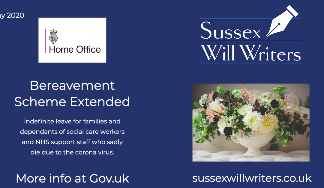 Bereavement Scheme Extended for NHS and Social Care Staff