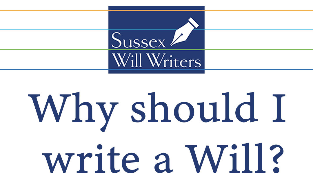 Video Series Part 1 – Why Should I Write a Will?