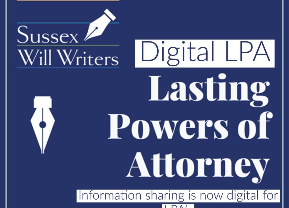 Information Sharing of a Registered Lasting Power of Attorney is now Digital