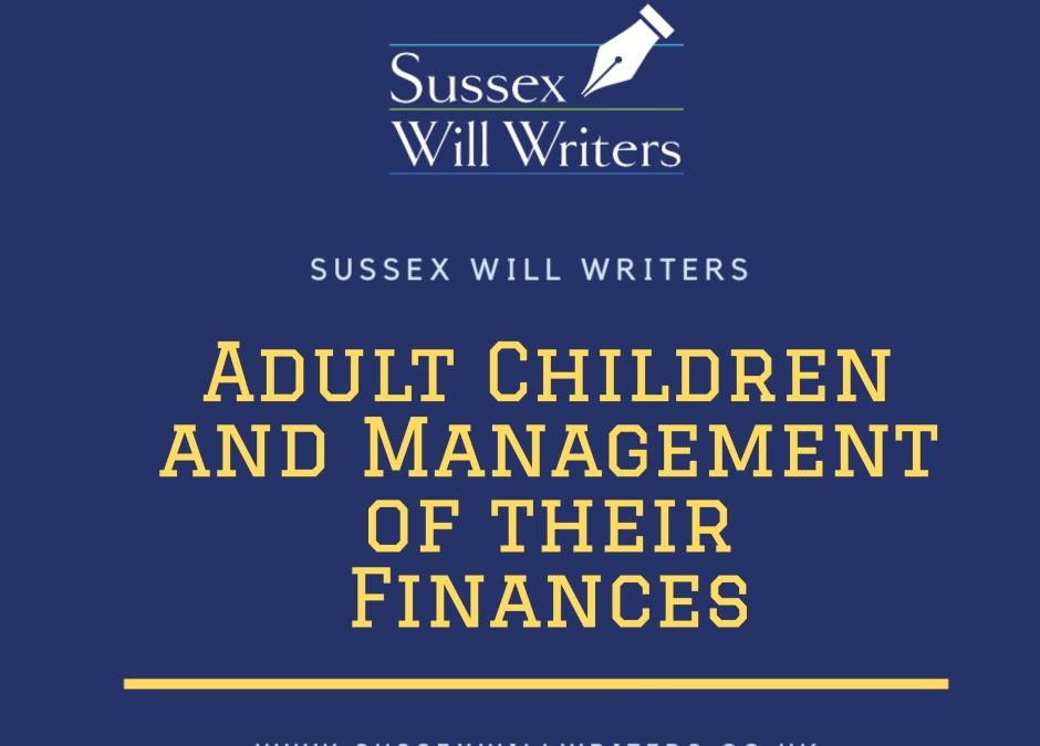 Adult Children and Management of their Finances