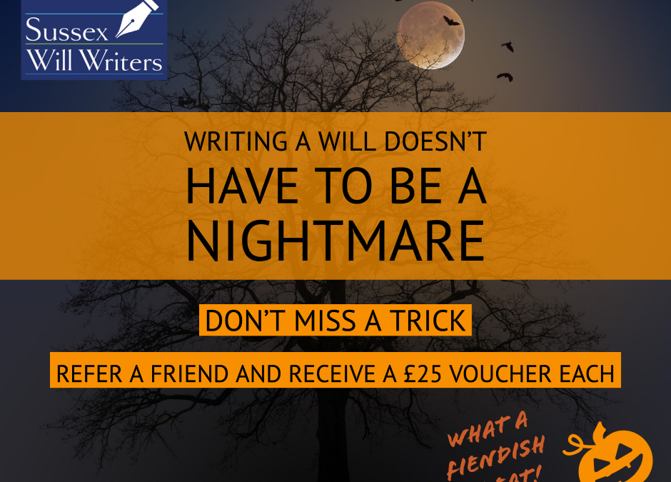 Are You Spooked by Writing a Will?